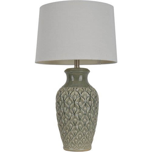 J. Hunt Home 30'' H Table Lamp with Bell Shade in Ivory ...
