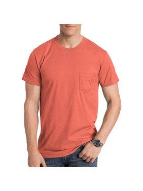Hanes Men's nano-t short sleeve pocket tee