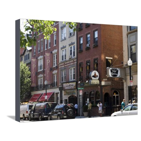 North End, Little Italy, Boston, Massachusetts, New England, USA Stretched Canvas Print Wall Art By Amanda Hall