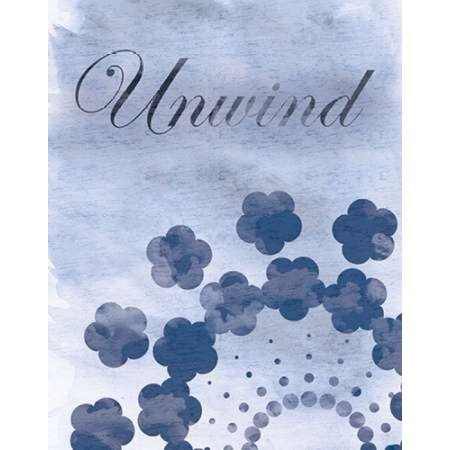 Unwind Blue Spa 2 Poster Print by Lauren Gibbons (22 x 28)