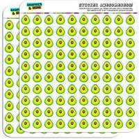 "Avocado 200 1/2"" (0.5"") Planner Calendar Scrapbooking Crafting Stickers"