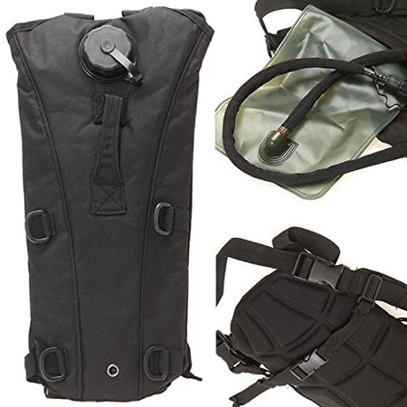 Best Hydration Pack Bladder in Black - HUGE 3 Liter Capacity for Hiking &