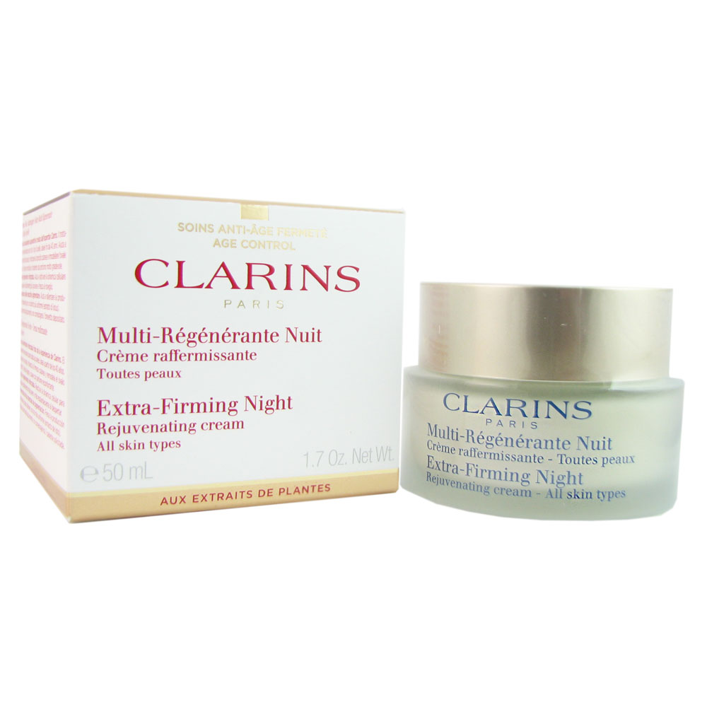Clarins Extra Firming Night Cream (All Skin Types) 1.6 oz by Clarins Paris