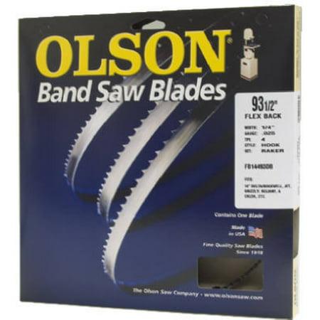OLSON SAW Bandsaw Blade, 3/16 x 80-In., 10-TPI 10080 Dewalt Band Saw Blades