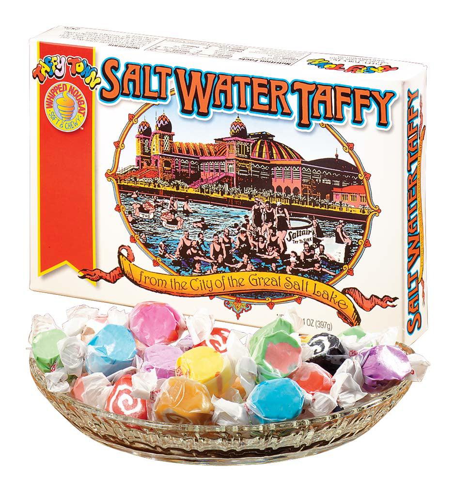 Miles Kimball Taffy Town Salt Water Taffy Gift Box, 14 oz. by Taffy Town