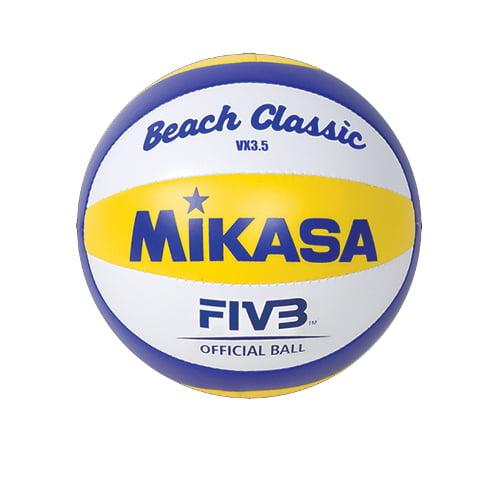 Mini Beach Volleyball by Mikasa Sports, 6'' Diameter - VX3.5