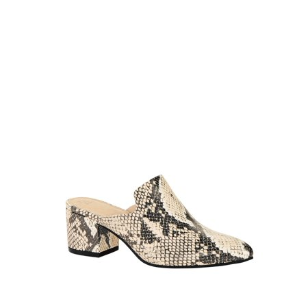 Ladies Time and Tru Heeled Mules