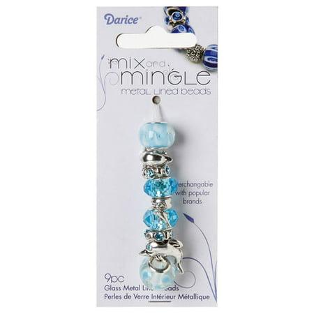 Mix and Mingle Themed Bead Set: Dolphin - Theme Mixer