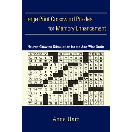 Large Print Crossword Puzzles For Memory Enhancement Neuron