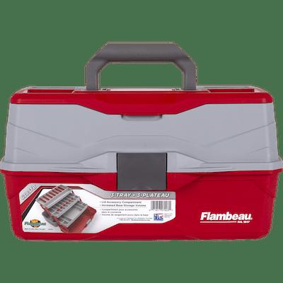 Flambeau Outdoors 3 Tray Classic Tackle Box by Flambeau Inc.
