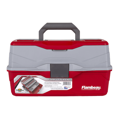Flambeau Outdoors 3 Tray Classic Tackle (Classic Tackle Box)