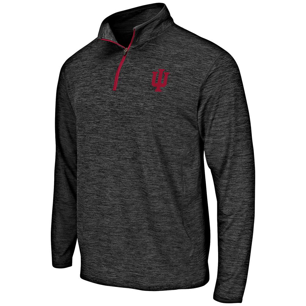 Mens Indiana Hoosiers Quarter Zip Windbreaker Shirt - S