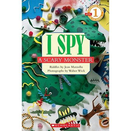 I Spy Pages Halloween (I Spy a Scary Monster)
