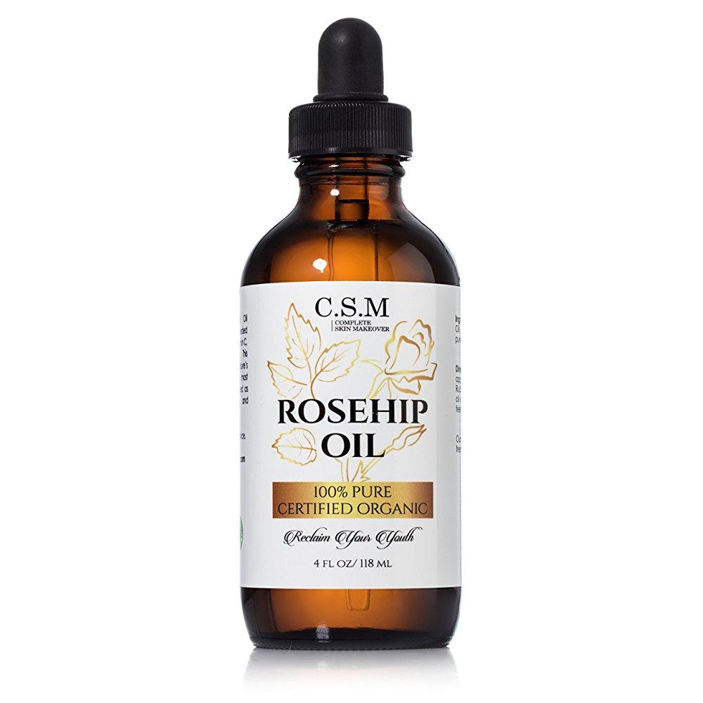 100% organic rosehip seed oil (4 oz) amazing anti-aging s...