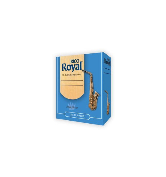 Rico Royal Alto Sax Reeds 3.5 Strength, Box of 10 by Rico Royal