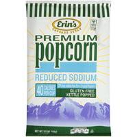 Erin's Cascade Style Gluten-Free Reduced Sodium Kettle Popped Original Popcorn, 5.5 Oz.