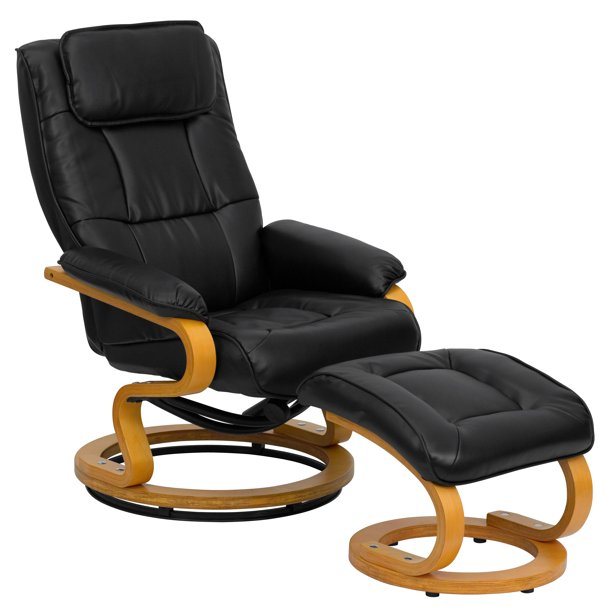 Flash Furniture Contemporary Multi, Flash Furniture Recliner Chair With Ottoman