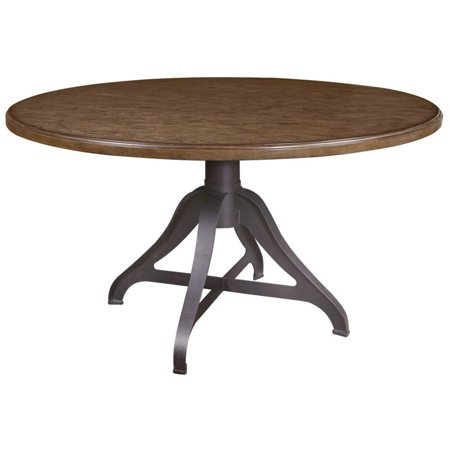 Pulaski Weston Loft Round Dining Table In Brown