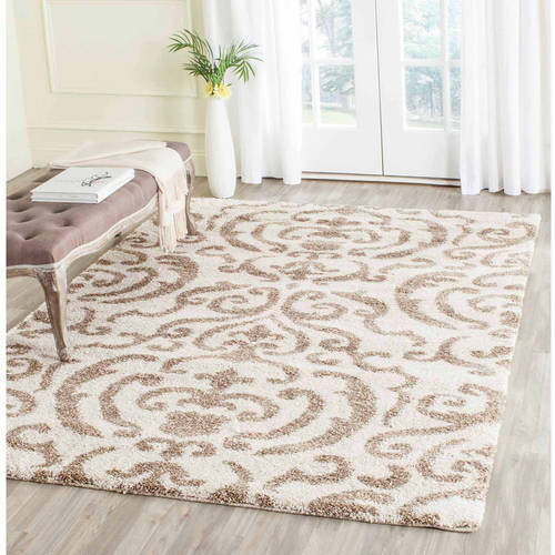 Safavieh Florida Deangelo Damask Plush Shag Area Rug