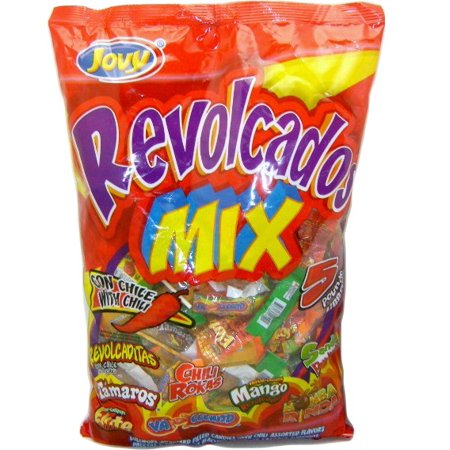 Mexican Candy Variety Pack - Jovy Revolcados Chile Mix Candy Bundle (5lbs) ()