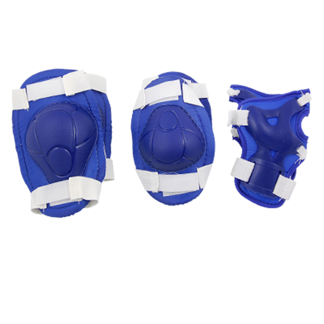 Children Blue Skate Knee Elbow Wrist Sports Support New by