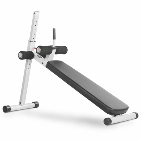 Xmark 12 Position Adjustable Ab Bench White