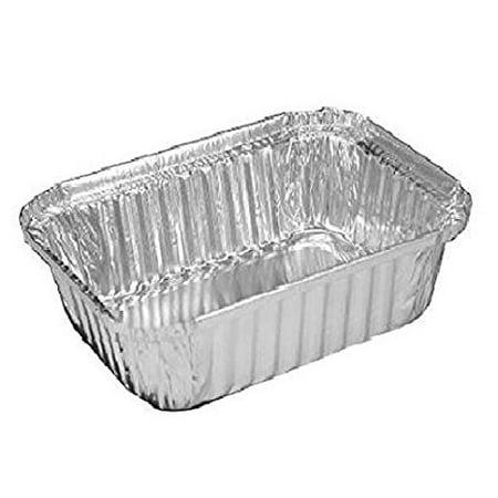 Smart Usa 788 2 25 Lbs Oblong Aluminum Foil Pans With