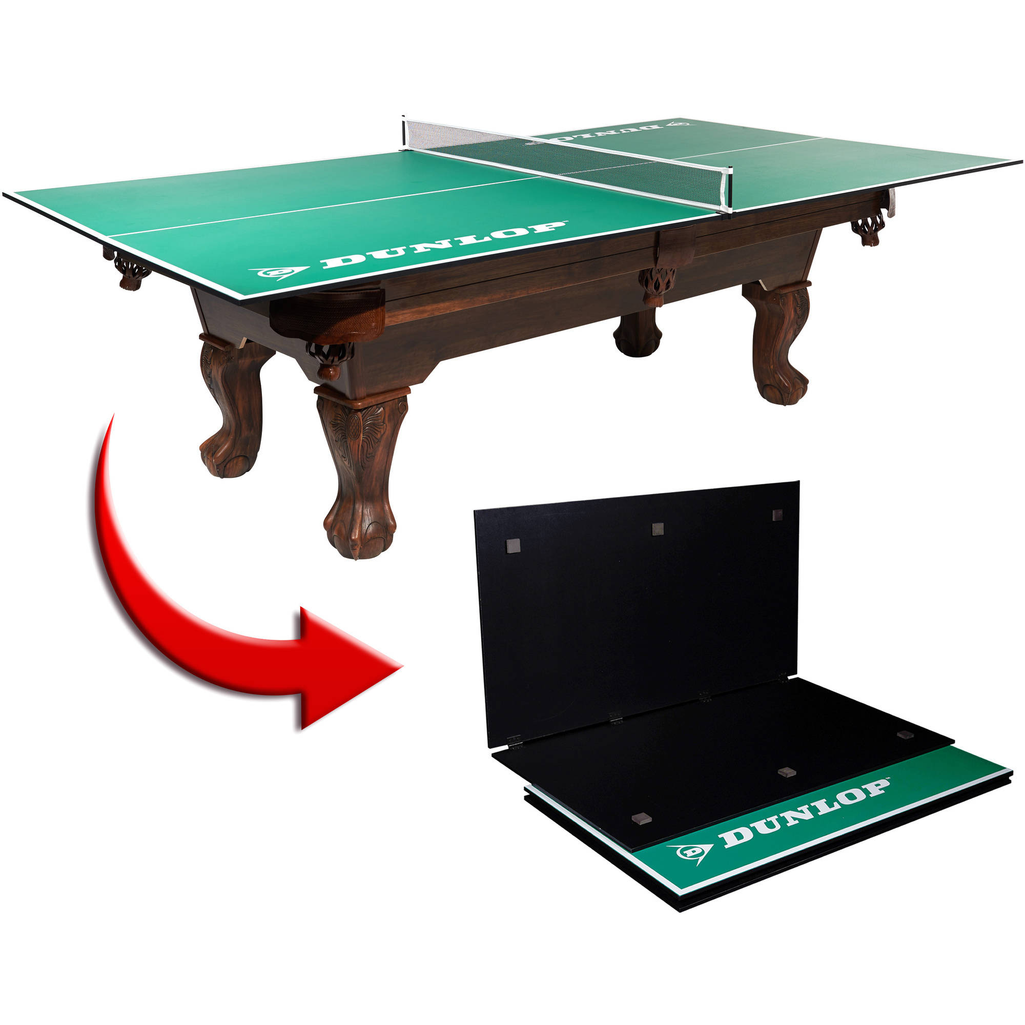 sc 1 st  Walmart & DUNLOP Official Size Table Tennis Conversion Top - Walmart.com