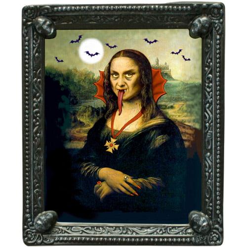 """10.25"""" x 12.25"""" Mona Lisa Lenticular Lenses Portrait"""