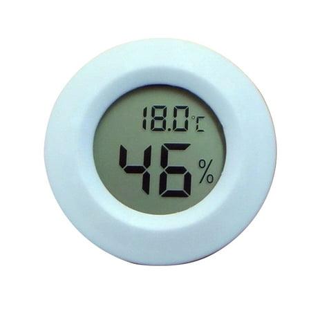 DANIU Mini LCD Digital Thermometer Hygrometer Fridge Freezer Tester Temperature Humidity Meter Detector