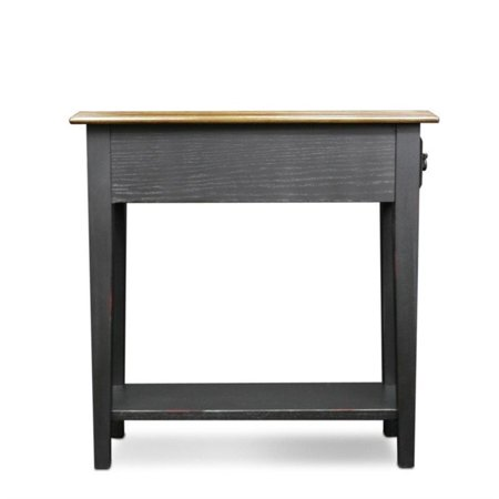 Leick Furniture Chairside End Table In Slate Finish Walmart Canada