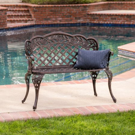Christopher Knight Home Lucia Outdoor Garden Bench by