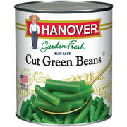 Hanover Garden Fresh Blue Lake Cut Green Beans, 101 oz