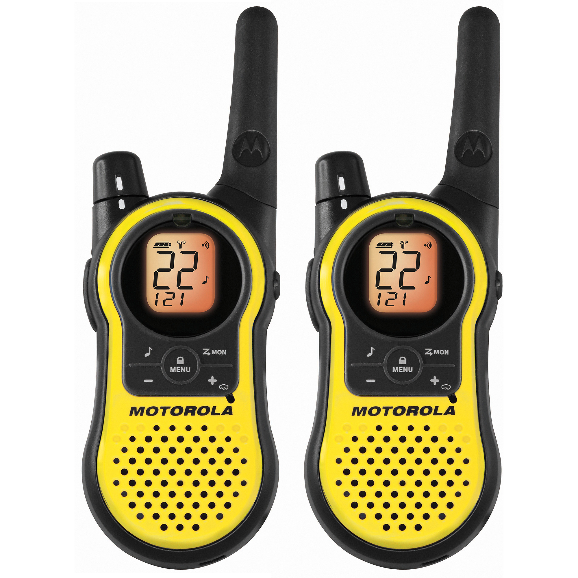 Motorola MH230R - 23 Mile Range Talkabout 2-Way Radios, PAIR