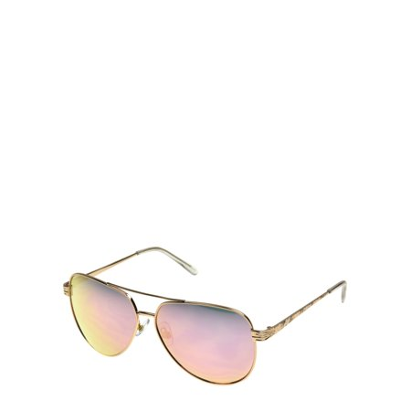 Foster Grant Women's Aviator 8 Sunglasses