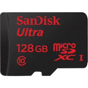 SanDisk Ultra 128 GB microSDHC - Class 10/UHS-I - 80 MB/s Read - 1 (Camera Memory Card Not Reading On Computer)