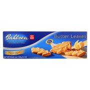 PACK OF 3-Bahlsen Cookies - Butter Leaves - 4.4 oz - 1 each