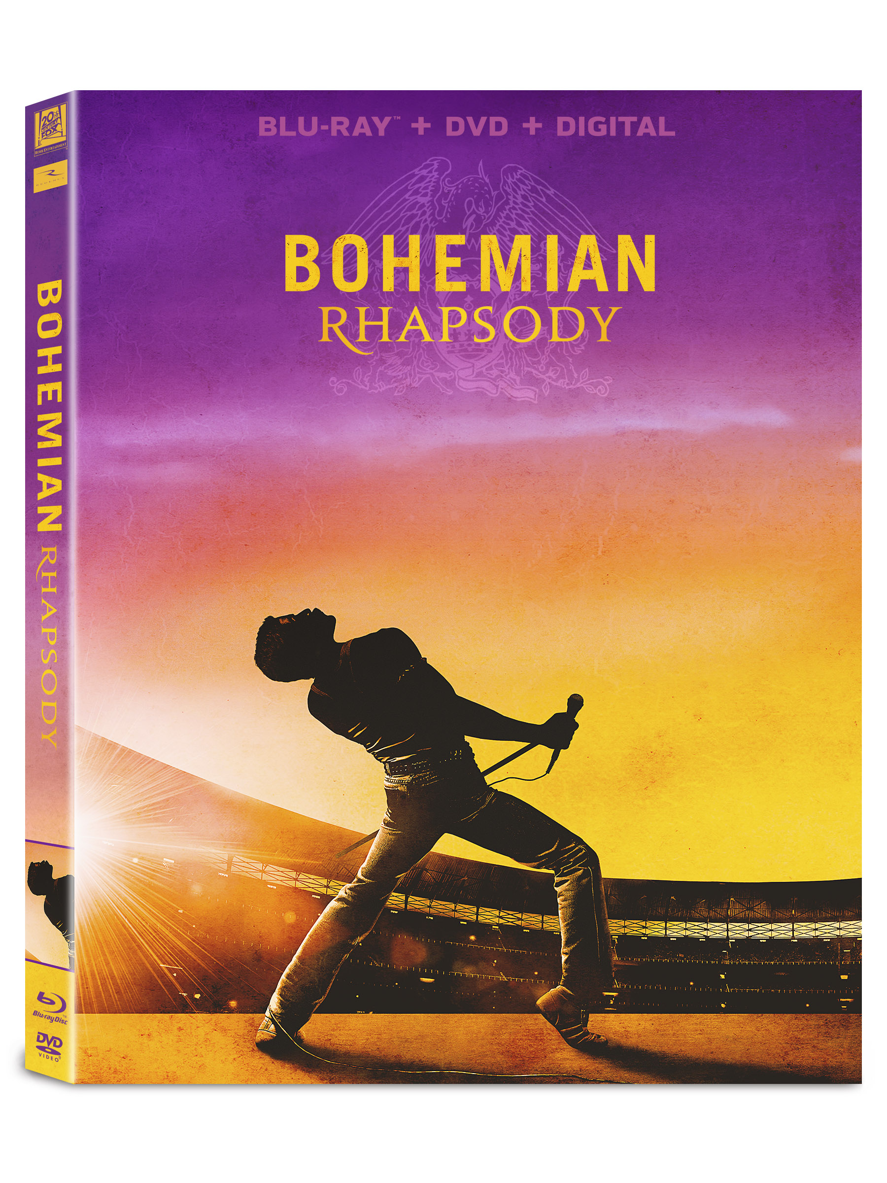 Bohemian Rhapsody (Blu-ray + DVD + Digital Copy)