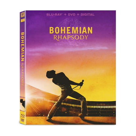 Bohemian Rhapsody (Blu-ray + DVD + Digital (Mock Ray Bans)