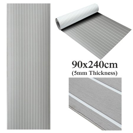 Marine EVA Foam Decking Boat Sheet Faux Teak Decking Yacht Flooring EVA Foam Floor Sheet Self-Adhesive Mat