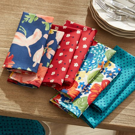 The Pioneer Woman Fiona Napkins, Set of 8
