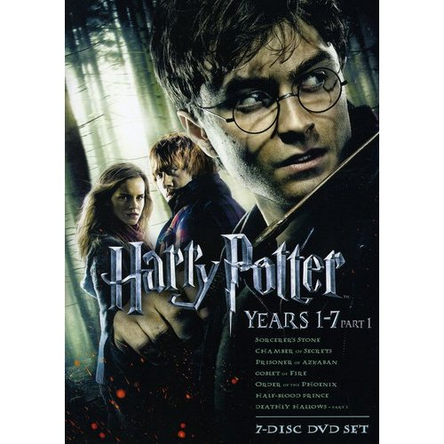 Warner Brothers Harry Potter Years 1 - 7:  Pa Dvd Std Ff
