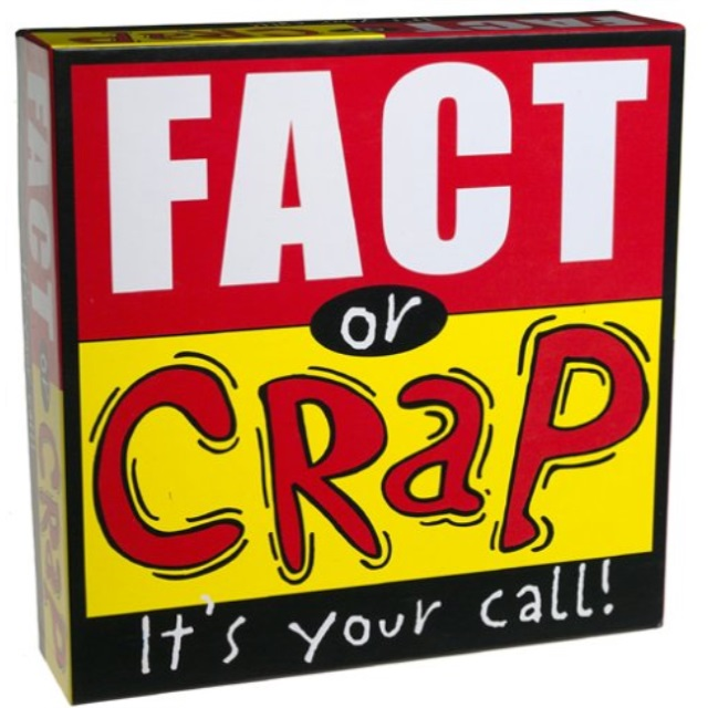 University Games Fact or Crap Board Game by University Games
