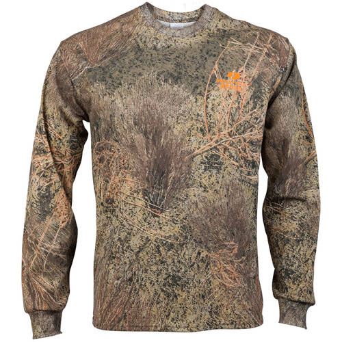 Men's Camo Long Sleeve Crew Tee by