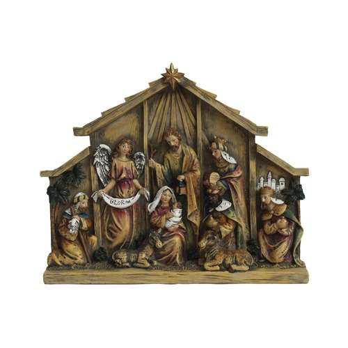 The Holiday Aisle Nativity in Relief