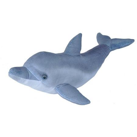 Living Ocean Dolphin Plush Stuffed Animal by Wild Republic, Kid Gifts, Ocean Animals, 25