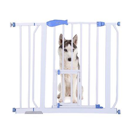 snorda Safety Gates Baby Stair Fence Barrier Pet Dog Gate Door Ramp Guardrail Isolation