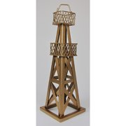 Metrotex Designs Decorative Oil Derrick Table