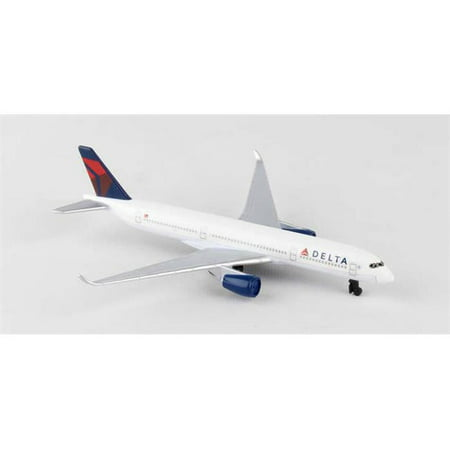 - Diecast Metal Aircraft Toy Commercial Airplane - Delta Airbus A350