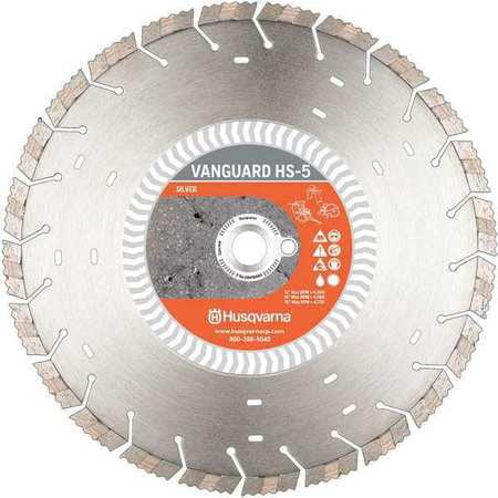 HUSQVARNA Vanguard HS5-12 Diamond Saw Blade,Wet/Dry Cutting Type